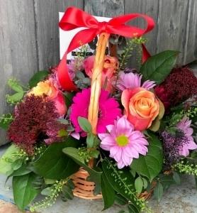 Ruby Wedding Basket