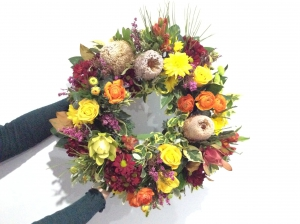 Funeral Bright Wreath