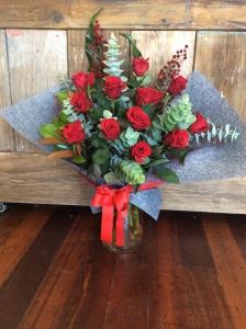 Lovers Vase Arrangement