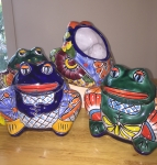 Hand Painted Mexican Pots