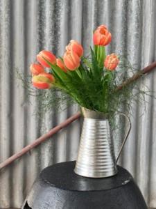 Tulip Rustic Arrangement