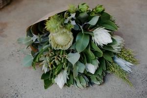 White Native Bouquet