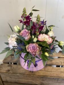 Lilac Haze Hat Box