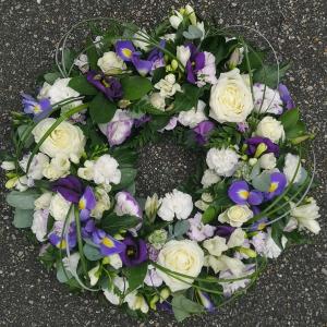 Shades Of Purple Wreath