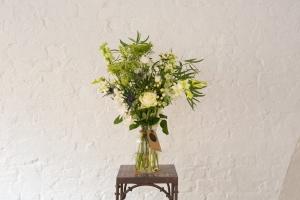 Wild Whites In Vase