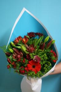 Red Palette Bouquet