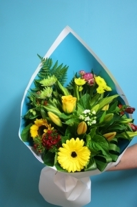 Bright palette bouquet
