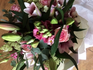 Pink Hand Tied By FW