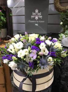 Hat Box Florist Choice
