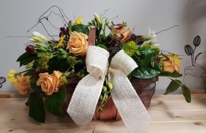 Seasonal Rose Basket