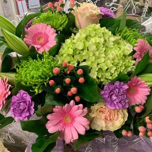 Florist Mix Hand Tied Bouquet