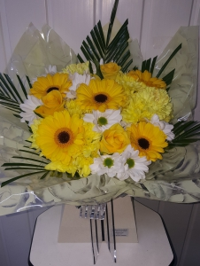 Loved In Yellow & White