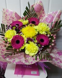 Hot Pink & Yellow