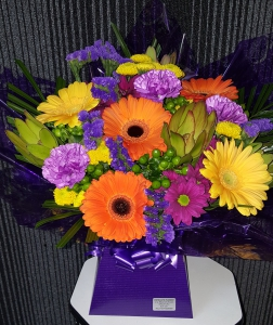 Rainbow Mix Aqua Bouquet