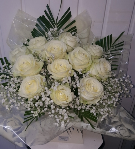 Loved With Cream Roses