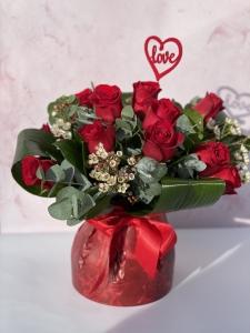 12 Rose Bouquet