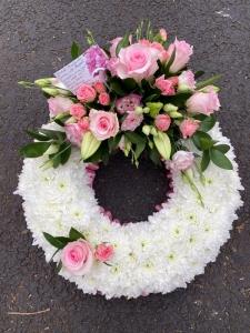Pink Based Wreath