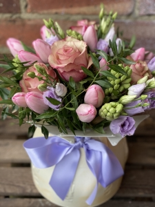 Pastel Hand tied