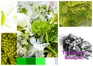 Bouquet Greens And Whites