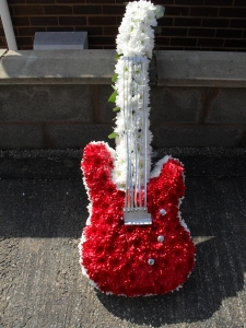 Floral Guitar Tribute