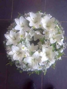 Lovely Lily Wreath