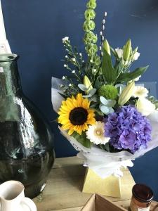 Aqua Box Florist Choice