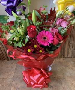 Romantic Aqua Bouquet