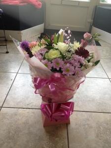 Vibrant Aqua Bouquet