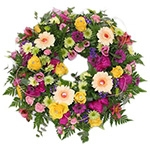 Open Round Wreath