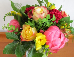 Bright And Colourful Posy