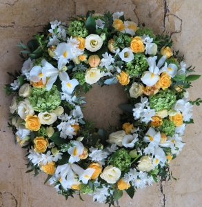 A Sunny Wreath