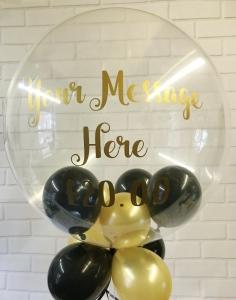 Printed Bubble Ballon