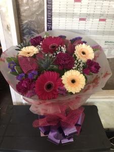 Gerbera And Carnations
