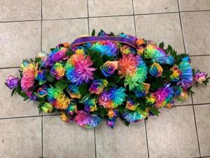 Rainbow Coffin Spray