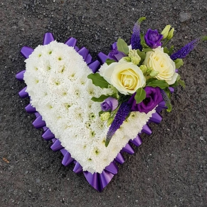 Petite Purple Heart
