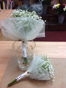 Vintage Bridemaid Bouquet