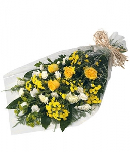 Bright Funeral Bouquet