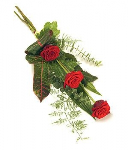 Simple Red Rose Sheaf