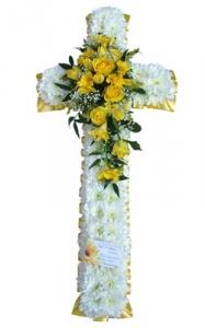 Yellow & White Cross