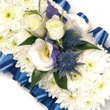 Blue & White Cross