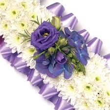 Lavender & White Cross