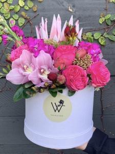 Ravishing Rose Hatbox