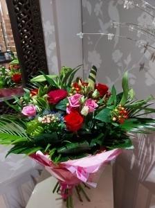 Vivid Handtied Bouquet