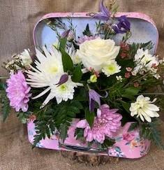 Suitcase Flowers