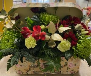 florist choice suitcase