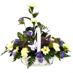 Lemon & Lilac Basket