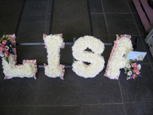 Lisa Funeral Letters