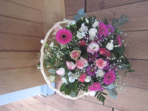 Pretty Pinks Basket