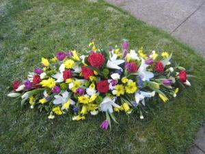 Spring Coffin Spray