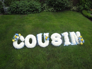 Cousin Funeral Letters